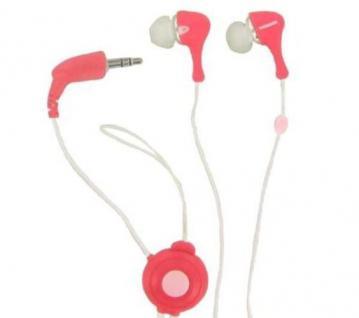 Thomson In-Ear MP3-Player Kopfhörer Headphone 3, 5mm Klinke HED133 Rasberry Handy