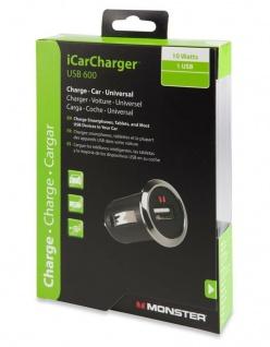 Monster Universal Kfz USB Ladekabel Auto PKW Ladegerät Akku Charger USB-Lader