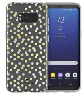 Kate Spade New York Confetti Dots Cover Hard-Case Hülle für Samsung Galaxy S8