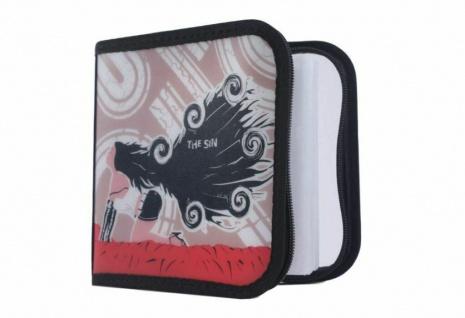 Hama 24er CD DVD Blu-Ray Tasche The Sin Wallet Case Aufbewahrung Hülle Mappe Box