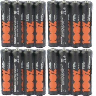 GP Peak-Power 100% AAA-Batterie PACK 1, 5V Alkaline AAA-Batterien Micro LR03