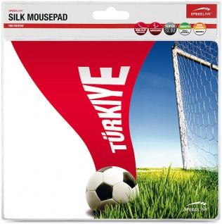 Speedlink Silk Mousepad Mauspad Motiv Fahne Türkiye Türkei Mouse Maus Pad WM EM