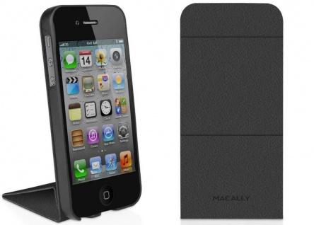 Macally Schutz-Hülle Case Flip Cover Klapp-Tasche Etui Bag für Apple iPhone SE 5