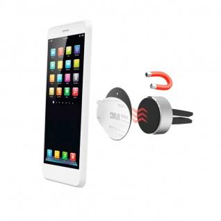 Hama Magnet Handy-Halterung 360° Auto Navi Lüftung Gitter KFZ Smartphone Halter