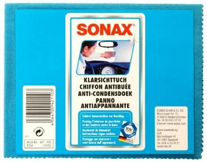 Sonax Kfz Klarsicht-Tuch Anti-Beschlag Reinigungstuch Scheiben-Antibeschlagtuch