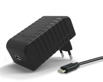 Netzteil 2, 4A Schnell-Ladegerät USB-C Lader für Handy Smartphone Tablet Navi etc