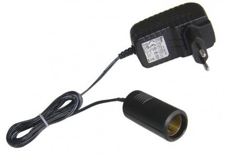 AIV Strom Adapter Spannungswandler 220/230V Steckdose auf 12V Zigarettenanzünder