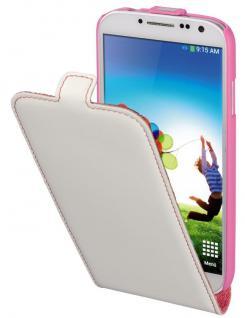 Hama Handy-Tasche Flap Case Etui Klapp-Tasche Schutz-Hülle für Samsung Galaxy S4