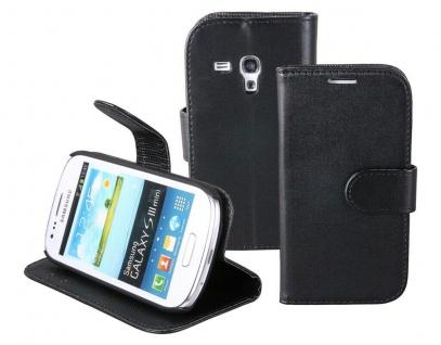 Patona Slim Book-style Tasche Klapp-Etui Schutz-Hülle für Samsung Galaxy S3 mini