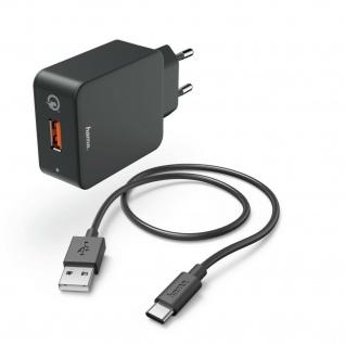 Hama Ladeset USB-C Quick Charge Ladekabel Datenkabel 1, 5m Netzteil