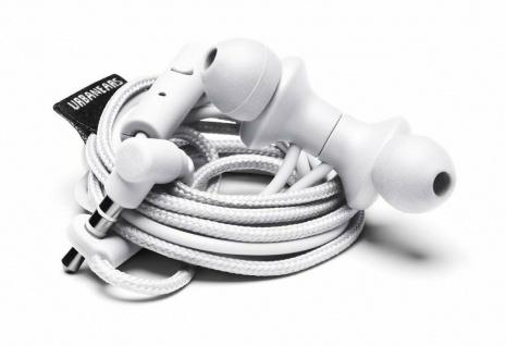 Urbanears Kransen In-Ear Headset Weiß Ohrhörer Kopfhörer Mikrofon Fernbedienung