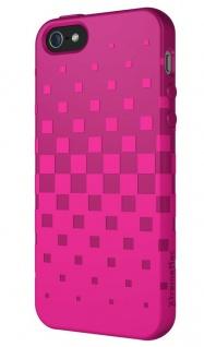 XtremeMac Design Silikon Skin Cover Pink Hülle Case Bag für Apple iPhone SE 5S 5