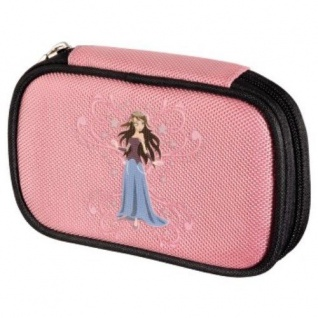 Hama NDS Tasche Case Prinzessin Rosa Schutz-Hülle Zubehör für Nintendo DS Lite