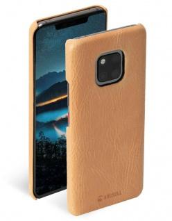 Krusell Cover Leder Hard-Case Schale Schutz-Hülle Tasche für Huawei Mate 20 Pro