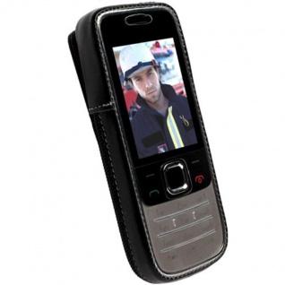 Krusell Handy-Tasche Clip Leder für Nokia 2730 Classic 2730C Hülle Case Cover