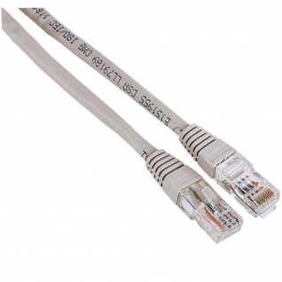 Hama 3m Netzwerk-Kabel Cat5e UTP Lan-Kabel Patch-Kabel Cat 5e Gigabit Ethernet
