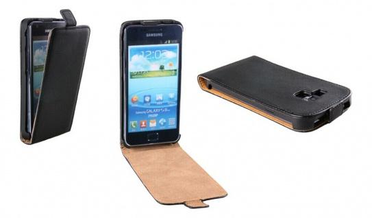 Patona Slim Flip Klapp-Tasche Schutz-Hülle für Samsung Galaxy I9105 SII S2 Plus