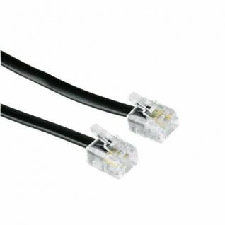 Hama Telefon-Kabel Modular-Anchlusskabel 6p4c US Stecker Westernkabel 4-polig