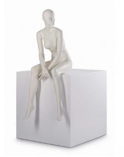 Almax Profi Mannequin Schaufenster-Puppe Frau Dame weiblich sitzend female Gr 36