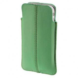 Hama Leder Köcher-Tasche Case Etui Schutz-Hülle Bag für Apple iPhone 4S 4 3GS 3G