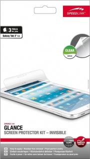 Speedlink 3x Display-Folie Schutz-Folie klar für Samsung Galaxy Tab 3 7.0 7 Zoll