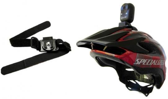 Halterung Halter Stativ für Action-Cam Helm-Kamera Camcorder Fahrrad MTB Ski ...
