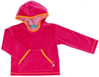 Tragwerk Kaputzen-Pullover Melus Nicki Himbeere 56/62 Baby Mädchen Kapuzen-Pulli
