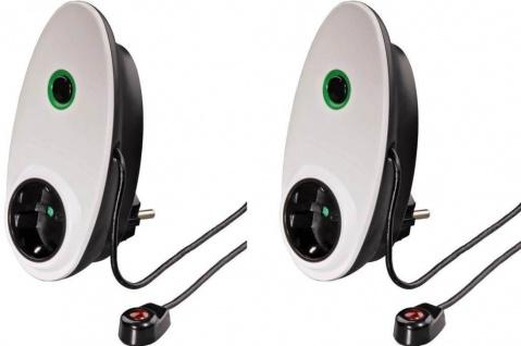 PACK 2x Hama TV Standby Killer Abschalter Energiespargerät IR Sensor Ausschalter