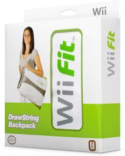 Bigben Tasche Case Rucksack für Nintendo Konsole + Wii Fit Balance Board Zubehör