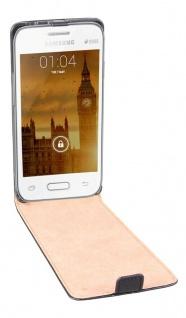 Patona Slim Flip Klapp-Tasche Schutz-Hülle Cover Case für Samsung Galaxy Young 2