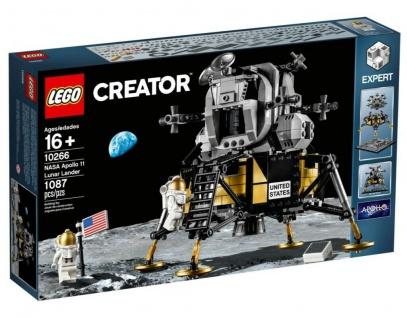 Lego Creator 10266 NASA Apollo 11 Mondlandefähre Lunar Lander Mond Lande-Fähre