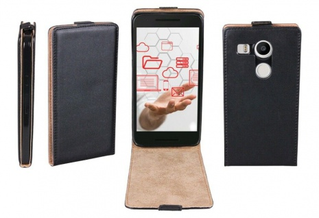 Patona Slim Cover Klapp-Tasche Schutz-Hülle Cover Case für LG Google Nexus 5X