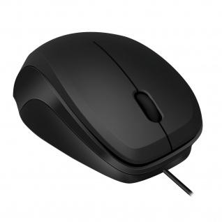 SPEEDLINK LEDGY Geräuschlose USB-Maus 900dpi Optisch 3 Tasten für PC Notebook