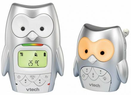 Vtech Babyphone Eule BM-2300 Digital Temperatur-Sensor Nacht-Licht Musik Babyfon