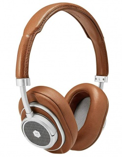 Master & Dynamic MW50+ Brown Wireless Headset Bluetooth BT Kopfhörer Earphones