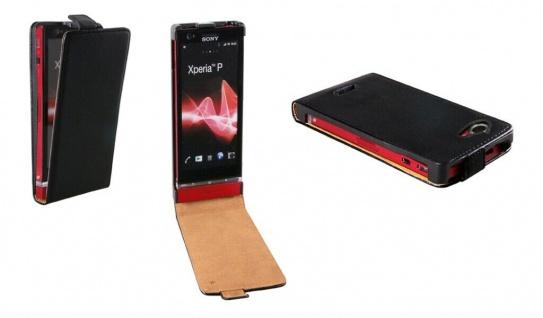 Patona Slim Flip-Cover Klapp-Tasche Schutz-Hülle Case für Sony S36h Xperia L