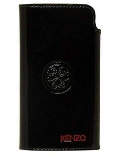 Kenzo Universal Leder Case Pouch Tasche Schutz-Hülle Bag Etui für Handy