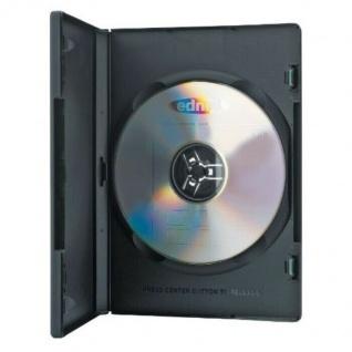 Ednet 5x DVD-Hüllen für 2 DVDs 2-Fach Leer-Hülle Box Case CD DVD Blu-Ray Disc