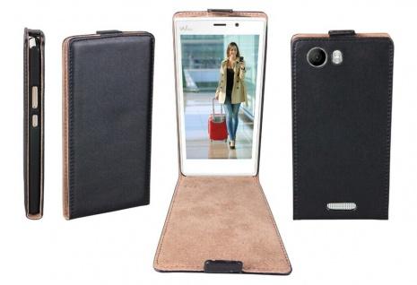 Patona Slim Flip-Cover Klapp-Tasche Schutz-Hülle Case Cover für Wiko Ridge 4G
