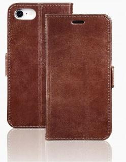 Pazzimo Leder Booklet Smart Case Tasche Hülle Cover für Apple iPhone 7 8 SE 2020