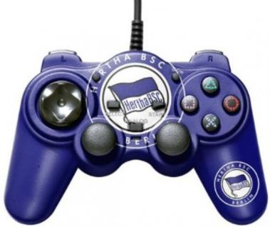 Bigben Controller Hertha BSC Berlin Pad Gamepad für Sony Playstation 2 PS2 PS1