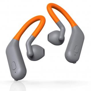 Thomson True Wireless Sport BT Kopfhörer Bluetooth Headset Ohrbügel mit Mikrofon
