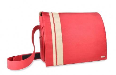 """Speedlink Courier Messenger Bag Notebook-Tasche Laptop-Tasche Case bis 18, 4"""" rot"""