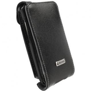 Krusell Flip Case Handy-Tasche für HTC Desire HD Etui Schutz-Hülle Klapp-Tasche