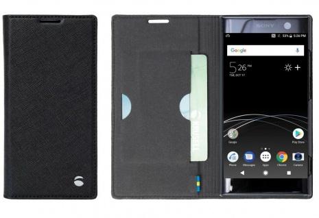 Krusell Folio Wallet Tasche Smart Schutz-Hülle Case Cover für Sony Xperia XA2
