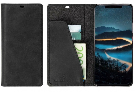 Krusell Folio Wallet Tasche Smart Schutz-Hülle Case Cover für Huawei Mate 20 Pro