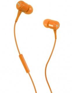 Puma Bread N Butter Orange Headset In-Ear + Mic Kopfhörer Ohrhörer Fernbedienung