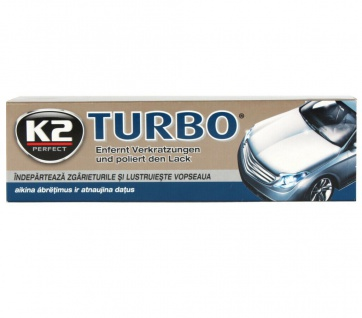 K2 Tempo Turbo Wachs-Paste Hartwachs Polier-Paste Lack-Politur Entfernt Kratzer