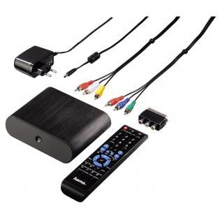Hama Media-Player HDMI LAN Internetradio SATA USB Media-Server Netzwerk-Player