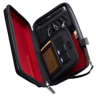 "Case Logic Hardcase Navi + Zubehör Universal 3, 5"" 4, 5"" Navi-Tasche Case Bag Etui"